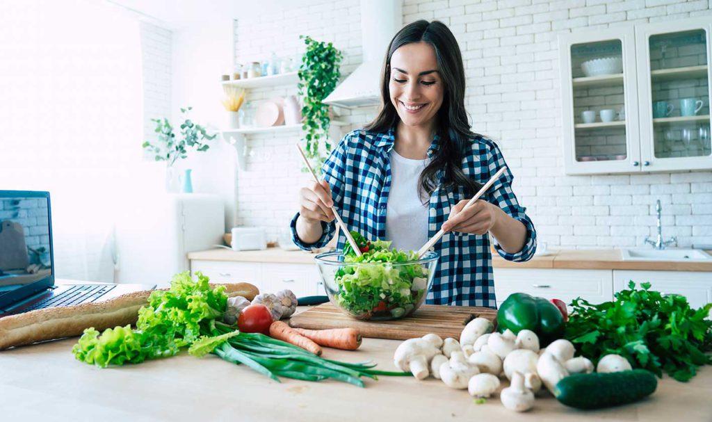 Vegetarianos: También pueden tener Colesterol alto
