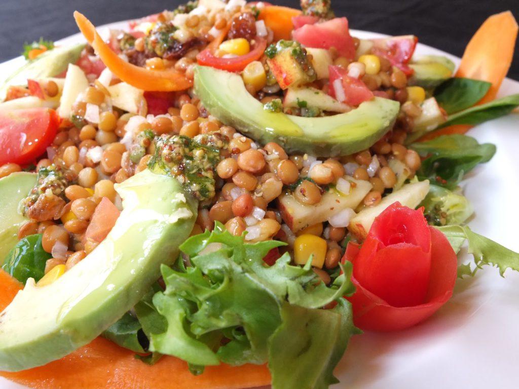 Receta Saludable: Ensalada de Lentejas