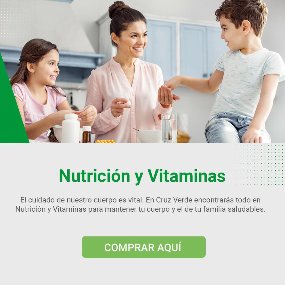 Nutrición y Vitaminas en Cruz Verde