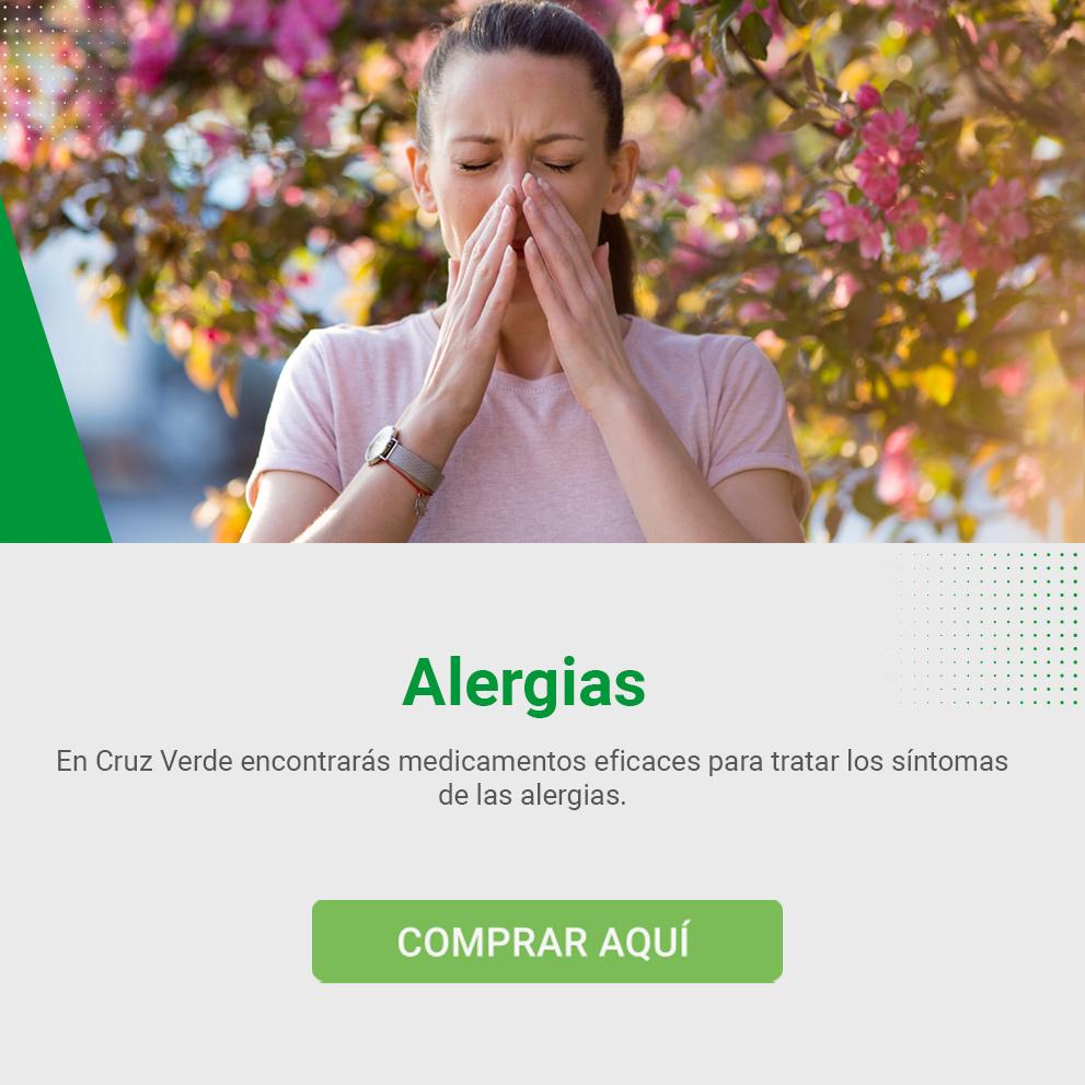Medicamentos para las alergias en Cruz Verde