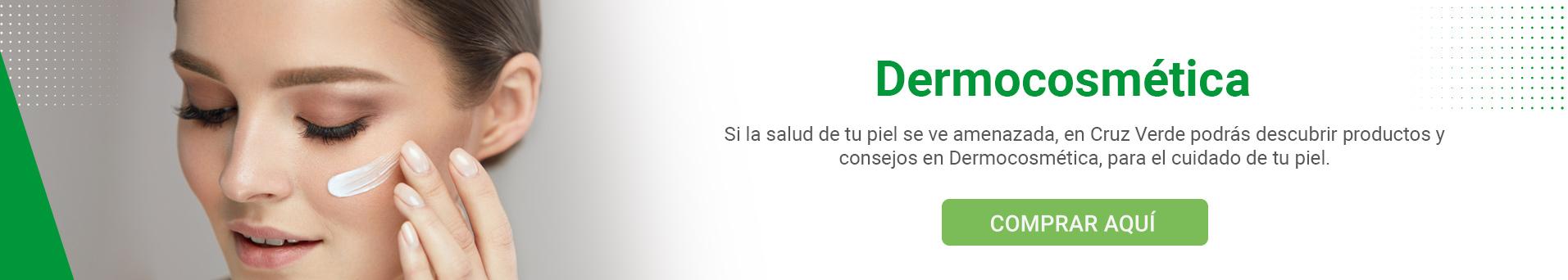 Dermocosmética en Cruz Verde