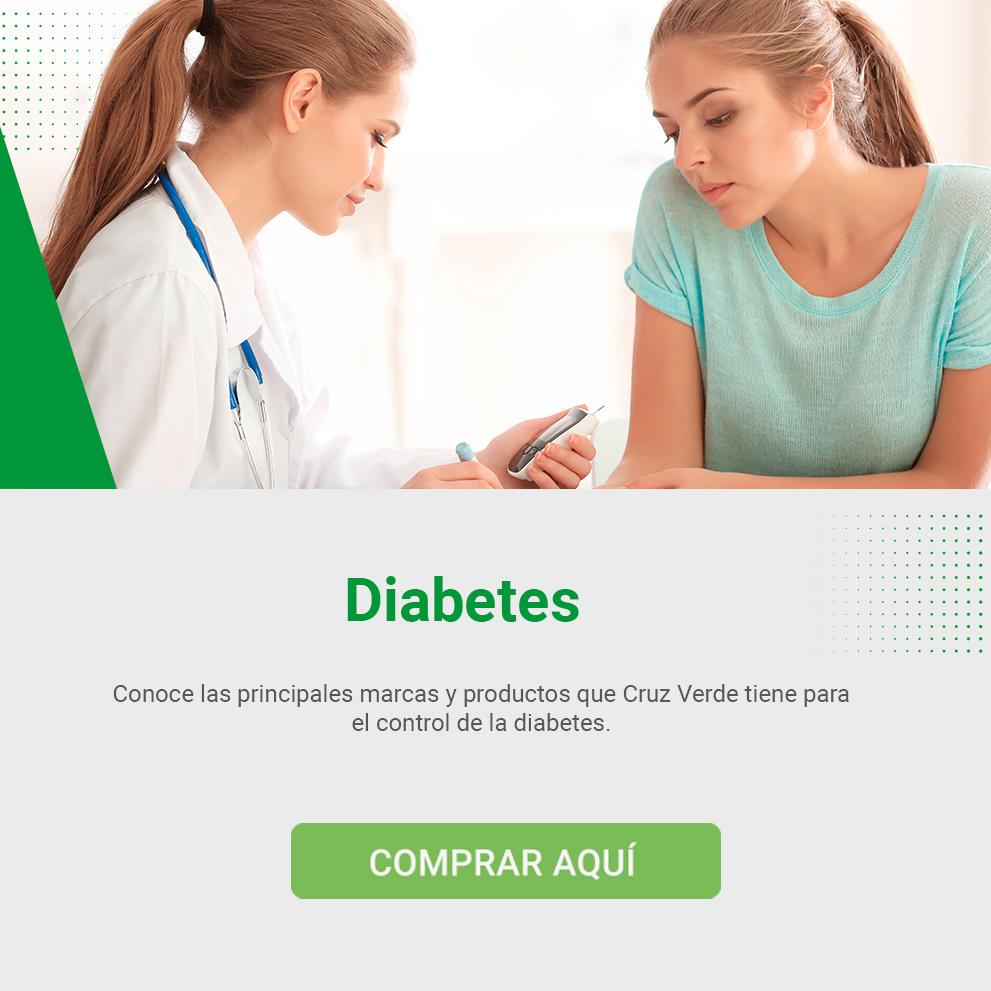 Medicamentos para la Diabetes en Cruz Verde