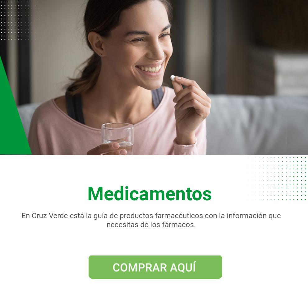 Medicamentos en Cruz Verde
